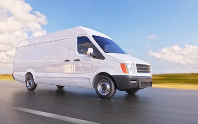 a white van